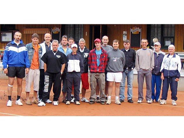 V Tachově se o víkendu hrál už 37. ročník tenisového turnaje o Husitský palcát