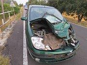 Z dopravní nehody u Pytlova.