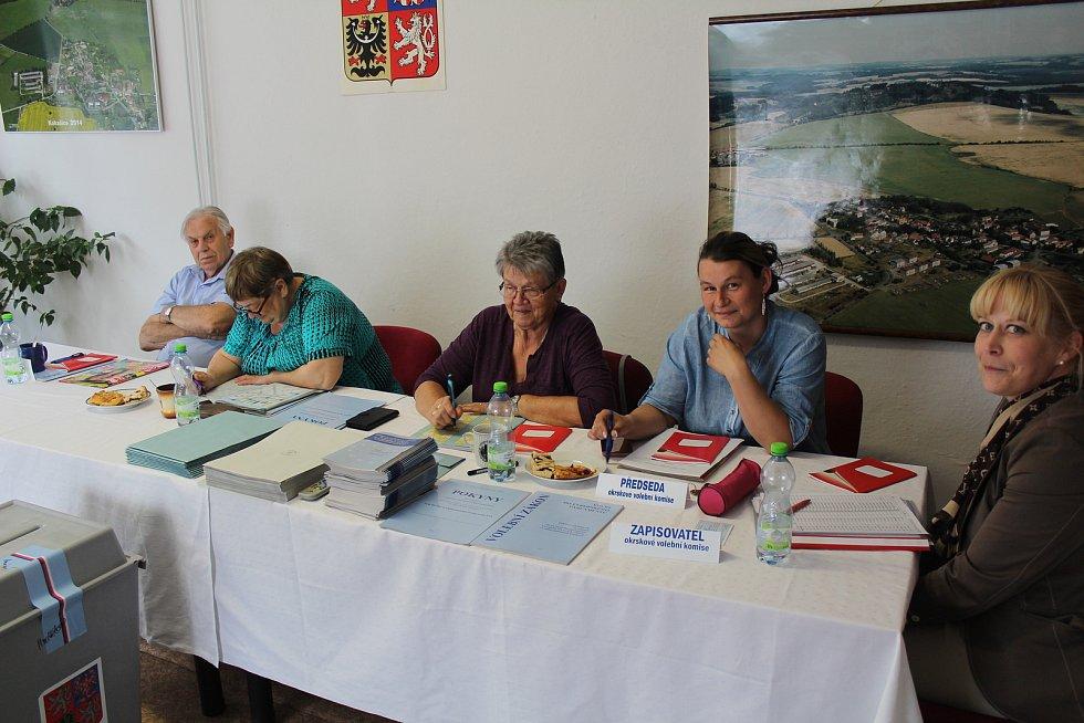 Volební komise v Kokašicích