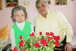 Zlatou svatbu oslavili Markéta a Milan Horákovi z Hošťky.