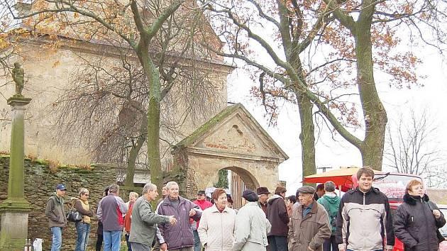 Martinské setkání v kostele sv. Martina v Křivcích.