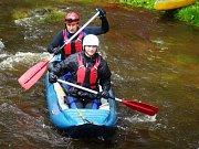 Během uplynulého víkendu byla opět odemčena řeka Mže.