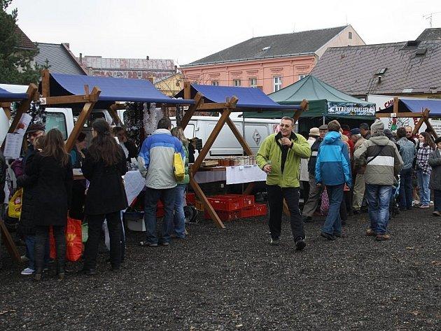 V Tachově se o víkendu opět konaly farmářské trhy.