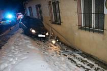 Nehoda v Okružní ulici.