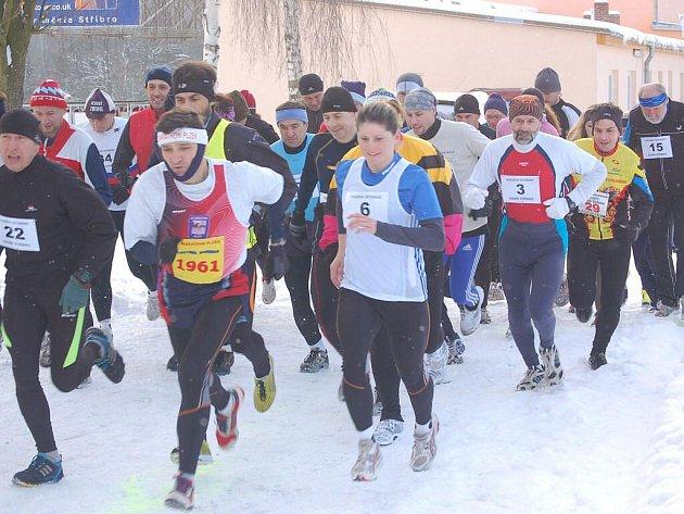 Po jiné trase, než je obvyklé, se běžel nedělní úvodní závod Bodit Cupu 2010