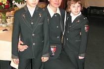 Dominika Kolowrat–Krakovská se svými dětmi Maximilianem a Franceskou.