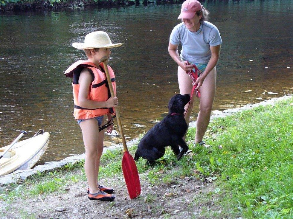 Léto u vody.