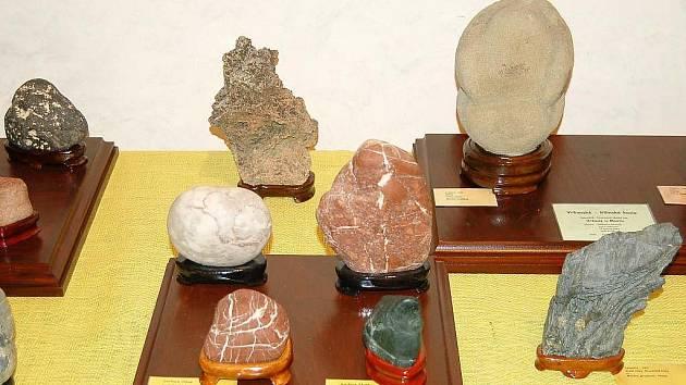Sobotní odpoledne v Plané patřilo výstvě minerálů a přírodních kamenů