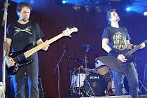 V pátek zahrála stříbrskému publiku kapela Metallica revival.