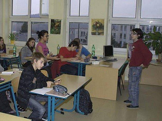 Den naruby se konal ve stříbrském gymnáziu.