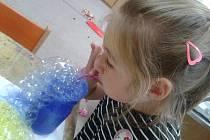 Mateřinka připravila pro děti bublinkový den