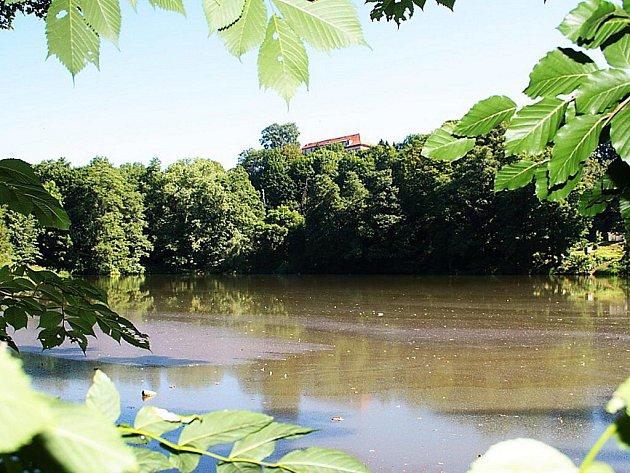 Pohled směrem k Zámeckému parku.