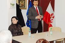 Oldřich Vlasák místopředseda Evropského parlamentu, navštívil ve čtvrtek Planou.