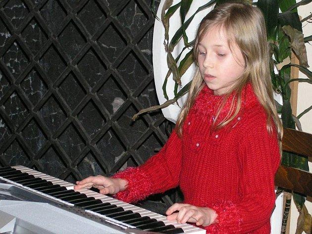 Maryana Ilnytská, žákyně prvního ročníku.