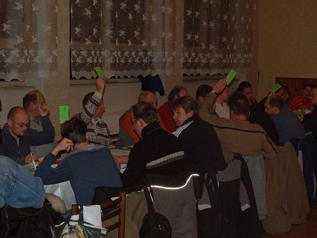 V kulturním domě v Kostelci se konala volební VH OFS Tachov