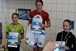 Tachovským plavcům se dařilo, zejména Tomáši Barthovi a Denise Katonové.