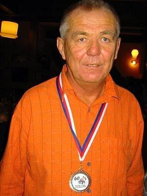 Václav Boček oslavil jubileum sportem