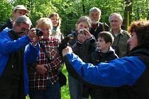 V Tachově se konala tradiční ornitologická vycházka.