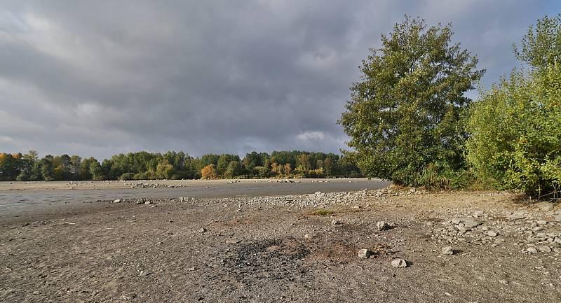Z výlovu Labutího rybníka u Plané.