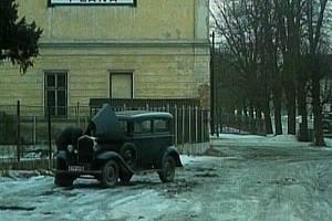 Nádraží v Boru změnili filmaři na plánské.