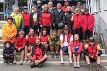 Na sportovní akci do Německa se v neděli vypravilo dvacet šest cyklistů z Tachova