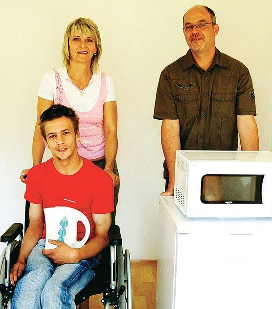 Libor Zelenka z Tachova upoután na invalidním vozíku
