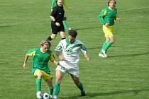Fotbal – Přebor Plzeňského kraje: Baník Stříbro – Rapid Plzeň 1:0 (1:0)