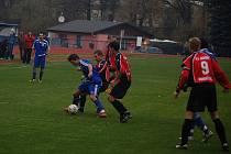 Fotbal divize: FK Tachov – J. Domažlice 2:2