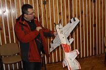 Sváteční polétání v kulturním domě ve Stříbře.