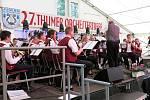 Dechový orchestr mladých ZUŠ Tachov účinkoval na hudebním festivalu v saském Thumu.