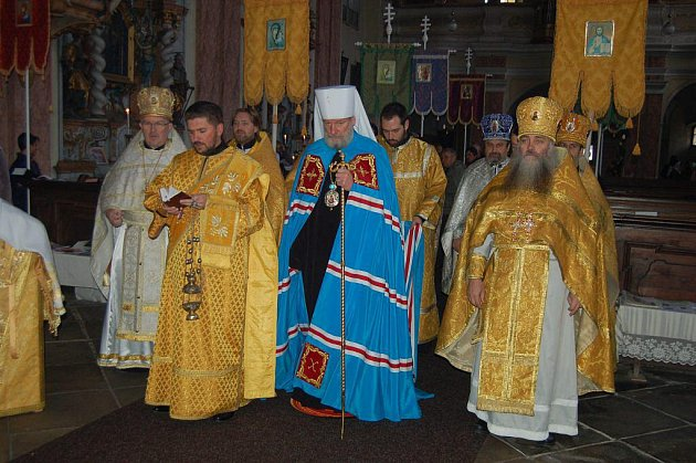 Pravoslavní věřící oslavili svátek sv. Rostislava
