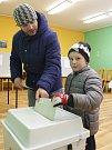Volební okrsek č.2 v Tachově.
