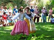 Zahradní slavnosti se nesly ve stylu baroka