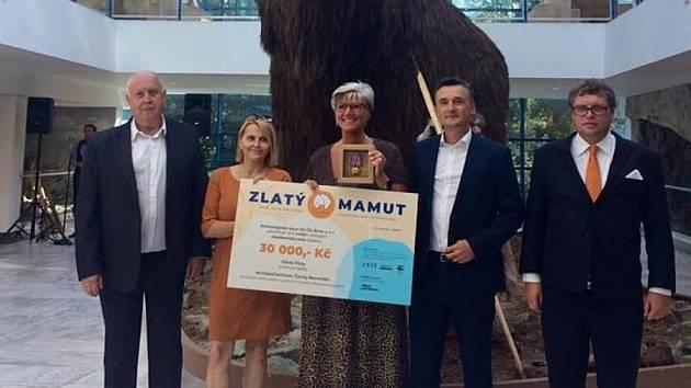 Slavnostní vyhlášení soutěže Zlatý mamut.