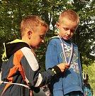 Malí cyklisté závodili v parku