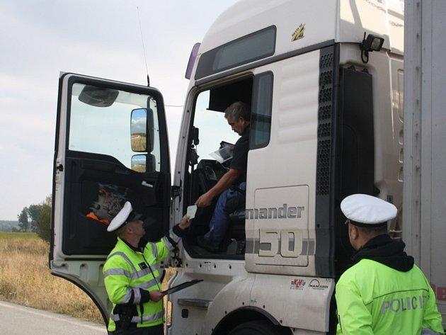 Dopravně bezpečnostní akce byla zaměřena na náklaďáky.