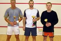 Dvacet hráčů bojovalo na Palacké o body do stříbrské squashové Champions Race