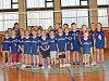 Účastníci Mikulášského volejbalového turnaje.