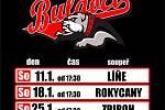 Šestkrát v řadě se vždy v sobotu v podvečer představí hokejisté HC Buldoci Stříbro na domácím ledě.