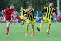 Z přípravného utkání FK Tachov - Olympie Březová