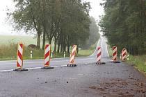Janov zatáčky  Zatáčky na silnici I/21 u Janova na Tachovsku.