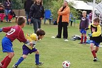 Fotbal: Ve Stráži se za účasti devíti družstev konaly dva turnaje přípravek.