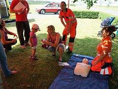 V Cebivi se uskutečnil den s Integrovaným záchranným systémem.