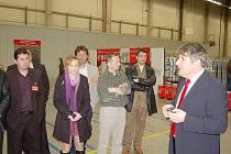 Loxxess, jedna z firem sídlící v průmyslovém areálu na Nové Hospodě, má v plánu rozšířit výrobu.