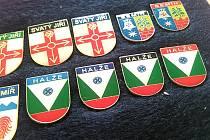 Halže vydala novou sérii odznaků. Všchny čtyři má ve sbírce Daniel Jahn ze Stříbra.