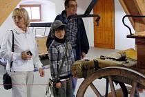 Vesnické muzeum v Halži bylo otevřeno před dvěma lety.