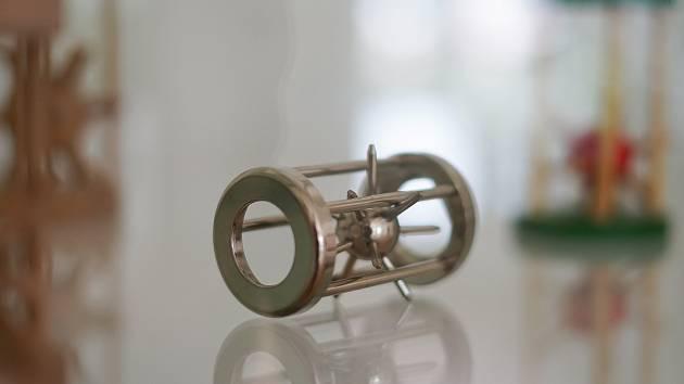 Na zámku v Tachově odstartovala výstava hlavolamů.