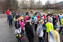 Několik desítek sportovců se v Plzni zúčastnilo oblíbené běžecké a plavecké akce s názvem Forestí Aquatlon.
