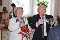 Ludmila a Jaroslav Němcovi oslavili diamantovou svatbu