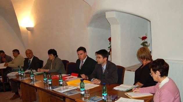 Borské zastupitelstvo (na snímku) čelí kritice ze strany nájemníků z Vysočan. Tomu se nelíbí jejich přístup při prodeji bytů.